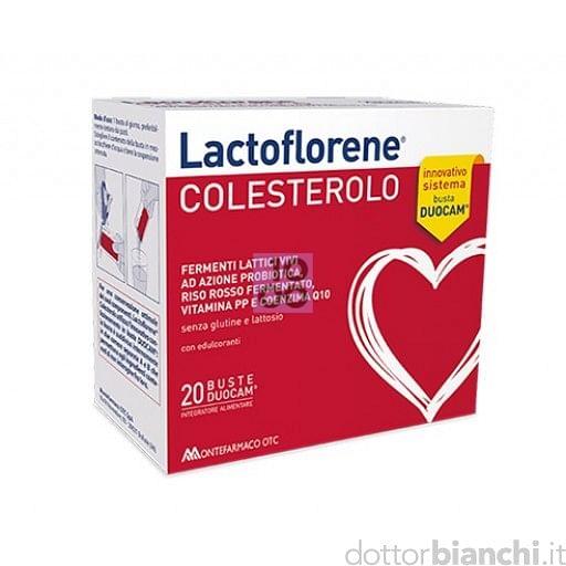 LACTOFLORENE COLESTEROL 20 BUSTINE
